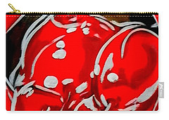 Cherry Lips Carry-all Pouch by Marisela Mungia