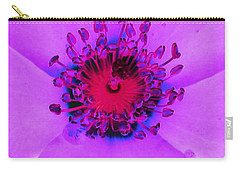 Cherry Pie Rose - Photopower 2827 Carry-all Pouch by Pamela Critchlow