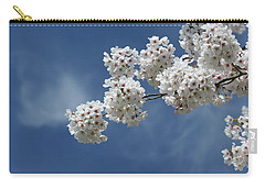 Cherry Tree Carry-all Pouch by Karen Silvestri