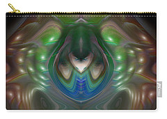 Carry-all Pouch featuring the digital art Cherub 5 by Otto Rapp