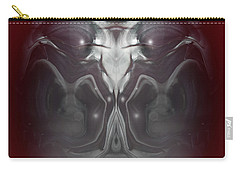 Carry-all Pouch featuring the digital art Cherub 7 by Otto Rapp