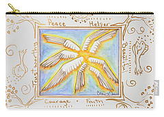 Cherubim Carry-all Pouch by Cassie Sears