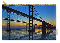 Chesapeake Bay Bridge Reflections Carry-all Pouch