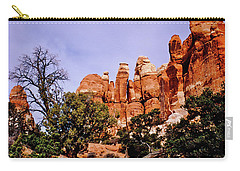 Chesler Park Pinnacles Carry-all Pouch by Ed  Riche