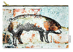 Chester White Boar 9 Carry-all Pouch
