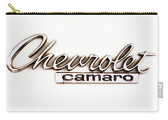 Chevrolet Camaro Emblem Carry-all Pouch by Jerry Fornarotto