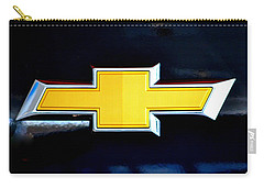 Chevy Bowtie Camaro Black Yellow Iphone Case Mancave Carry-all Pouch