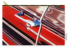 Carry-all Pouch featuring the photograph Chevy Or Caddie? by Ira Shander