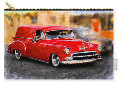 Vintage Car Carry-all Pouch featuring the photograph Chevy Street Rod by Aaron Berg
