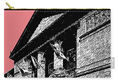 Chicago Art Institute Of Chicago - Light Red Carry-all Pouch