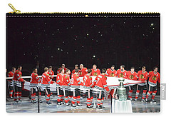 Chicago Blackhawks And The Banner Carry-all Pouch