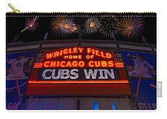 Chicago Cubs Win Fireworks Night Carry-all Pouch