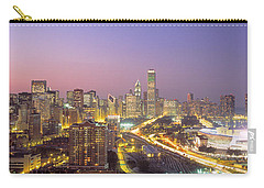 Chicago, Illinois, Usa Carry-all Pouch by Panoramic Images