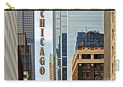 Chicago  Carry-all Pouch by Lydia Holly