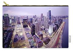 Chicago Night Carry-all Pouch by Jon Neidert