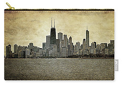 Chicago On Canvas Carry-all Pouch