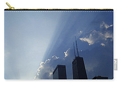 Chicago Sunset Carry-all Pouch by Verana Stark