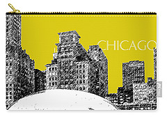 Chicago The Bean - Mustard Carry-all Pouch