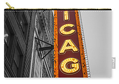 Chicago Theater Selective Color Carry-all Pouch
