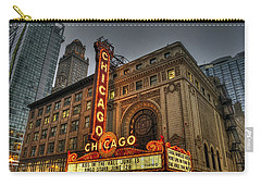 Chicago Theatre Hdr Carry-all Pouch