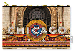 Chicago Theatre Marquee Sign Carry-all Pouch
