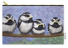 Chickadee Chicks Carry-all Pouch