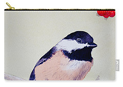 Chickadee Carry-all Pouch by Laurel Best