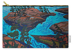 Chickanishing Creek Carry-all Pouch by Phil Chadwick