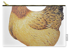 Chicken Carry-all Pouch by Ele Grafton