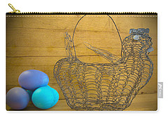 Carry-all Pouch featuring the photograph Chicken Little by Victoria Harrington