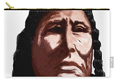 Chief Carry-all Pouch by Terry Frederick