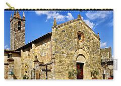 Carry-all Pouch featuring the photograph Chiesa Di Santa Maria Assunta by Fabrizio Troiani