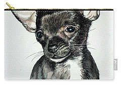 Chihuahua Black 2 Carry-all Pouch