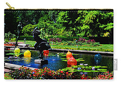 Chihuly Glass Balls In Missouri Botanical Garden Carry-all Pouch