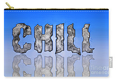 Carry-all Pouch featuring the digital art Chill Digital Art Prints by Valerie Garner