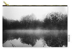 Carry-all Pouch featuring the photograph Chilly Morning Reflections by Miguel Winterpacht