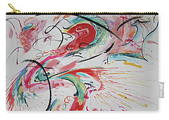 Carry-all Pouch featuring the painting Chinatown by Asha Carolyn Young