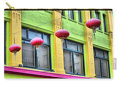 Chinatown Colors Carry-all Pouch