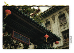 Chinatown Entrance Carry-all Pouch by Michelle Calkins