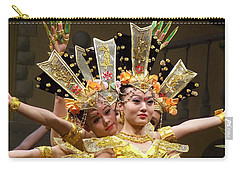 Chinese Dancers Perform Thousand Hands Guan Yin Carry-all Pouch