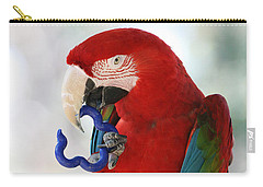 Carry-all Pouch featuring the photograph Chip by Judy Whitton