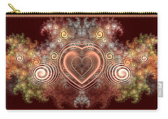 Chocolate Heart Carry-all Pouch