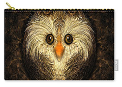 Chocolate Nested Easter Owl Carry-all Pouch
