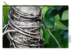 Carry-all Pouch featuring the photograph Choke by Lilliana Mendez