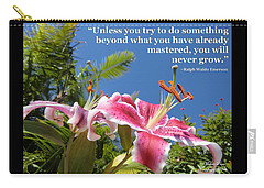 Choose Your Quote Choose Your Picture 18 Carry-all Pouch