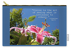 Choose Your Quote Choose Your Picture 19 Carry-all Pouch