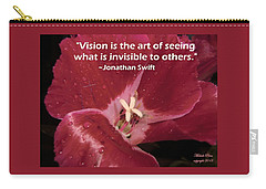 Choose Your Quote Choose Your Picture 6 Carry-all Pouch