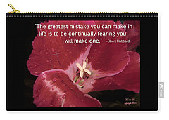 Choose Your Quote Choose Your Picture 8 Carry-all Pouch