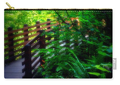 Carry-all Pouch featuring the photograph Chosen Path by Amanda Eberly-Kudamik