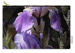 Chris' Garden - Iris 4 Carry-all Pouch by Stuart Turnbull